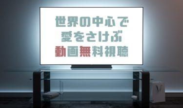ドラマ|世界の中心で愛をさけぶの動画を1話から無料で見れる動画配信まとめ
