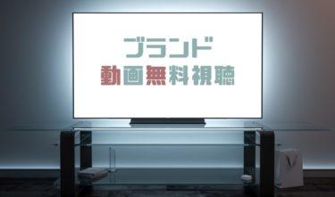 ドラマ|ブランドの動画を1話から全話無料で見れる動画配信まとめ