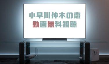 ドラマ|小早川伸木の恋の動画を全話無料で見れる動画配信まとめ