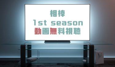 ドラマ|相棒Season1の動画を無料で見れる動画配信まとめ