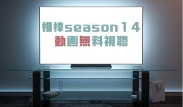 ドラマ|相棒Season14の動画を無料で見れる動画配信まとめ