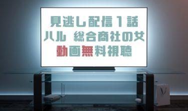 ドラマ|ハル総合商社の女1話の見逃し動画を無料で見れる動画配信まとめ
