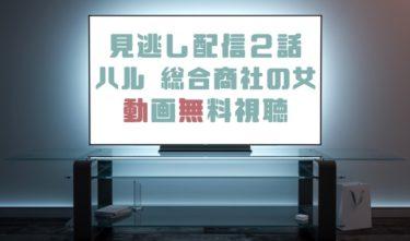 ドラマ|ハル総合商社の女2話の見逃し動画を無料で見れる動画配信まとめ