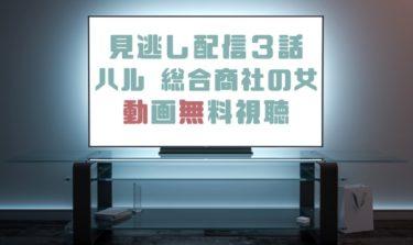 ドラマ|ハル総合商社の女3話の見逃し動画を無料で見れる動画配信まとめ