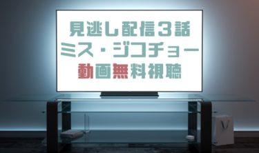 ドラマ|ミスジコチョー3話の見逃し動画を無料で見れる動画配信まとめ