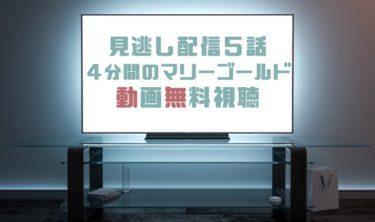 ドラマ 4分間のマリーゴールド5話の見逃し動画を無料で見れる動画配信まとめ
