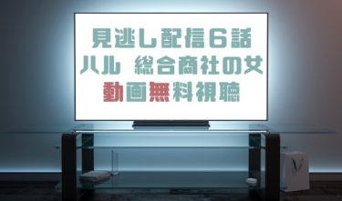 ドラマ|ハル総合商社の女6話の見逃し動画を無料で見れる動画配信まとめ
