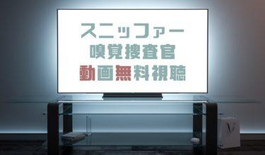 ドラマ|スニッファー嗅覚捜査官の動画を無料で見れる動画配信まとめ