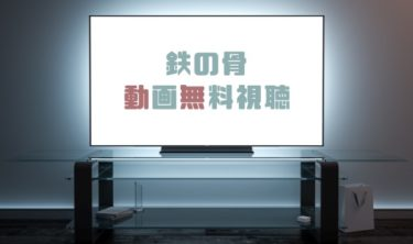 ドラマ|鉄の骨の動画を1話から全話無料で見れる動画配信まとめ