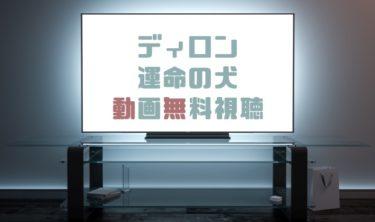 ドラマ ディロン〜運命の犬の動画を無料で見れる動画配信まとめ