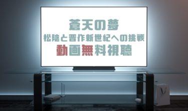 ドラマ|蒼天の夢 松陰と晋作新世紀への挑戦の動画を無料で見れる動画配信まとめ