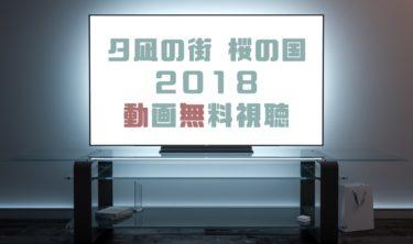 ドラマ|夕凪の街 桜の国2018の動画を無料で見れる動画配信まとめ