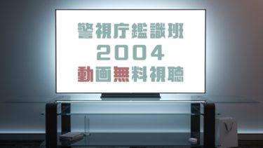 ドラマ|警視庁鑑識班2004の動画を無料で見れる動画配信まとめ
