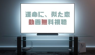 ドラマ|運命に似た恋の動画を無料で見れる動画配信まとめ