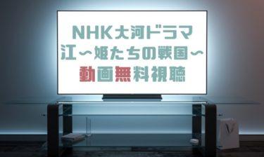 ドラマ 江 〜姫たちの戦国〜の動画を1話から全話無料で見れる動画配信まとめ