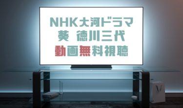 ドラマ|葵 徳川三代の動画を1話から全話無料で見れる動画配信まとめ