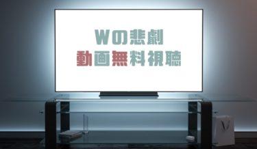 ドラマ Wの悲劇の動画を1話から全話無料で見れる動画配信まとめ