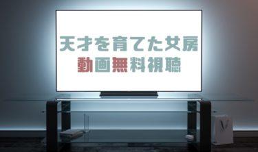 ドラマ|天才を育てた女房の動画を無料で見れる動画配信まとめ
