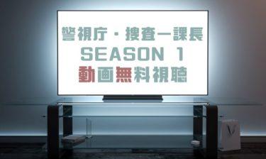 ドラマ|警視庁・捜査一課長SEASON 1の動画を1話から無料で見れる動画配信まとめ
