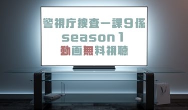 ドラマ|警視庁捜査一課9係season1の動画を全話無料で見れる動画配信まとめ