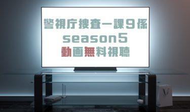 ドラマ 警視庁捜査一課9係season5の動画を全話無料で見れる動画配信まとめ